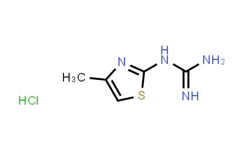 100599-91-5 | Guanidine, N-(4-methyl-2-thiazolyl)-, hydrochloride (1:1)