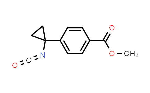 1006037-10-0 | Benzoic acid, 4-(1-isocyanatocyclopropyl)-, methyl ester