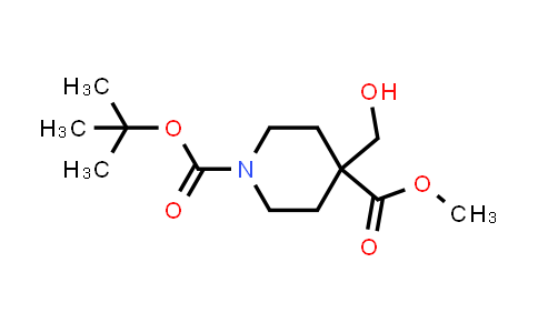 1006044-27-4 | 1-tert-Butyl 4-methyl 4-(hydroxymethyl)piperidine-1,4-dicarboxylate