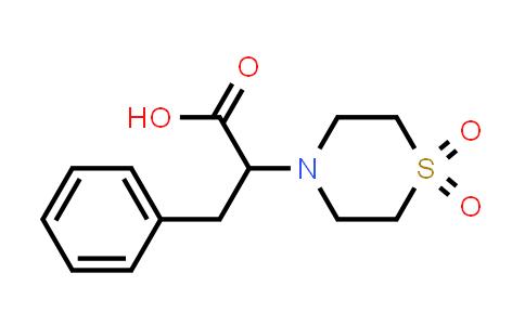 100610-68-2 | 4-Thiomorpholineacetic acid, α-(phenylmethyl)-, 1,1-dioxide