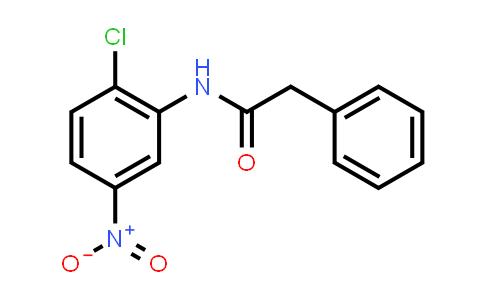 100622-81-9 | Benzeneacetamide, N-(2-chloro-5-nitrophenyl)-