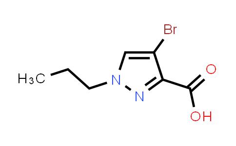 1006319-30-7 | 1H-Pyrazole-3-carboxylic acid, 4-bromo-1-propyl-