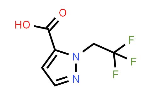 1006340-71-1 | 1-(2,2,2-Trifluoroethyl)-1H-pyrazole-5-carboxylic acid