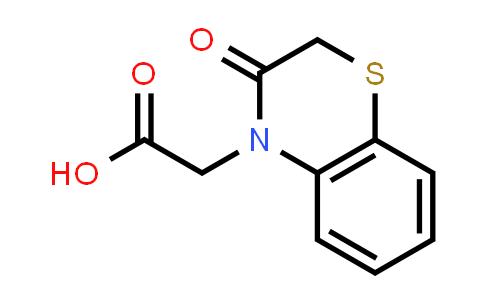 100637-60-3   4H-1,4-Benzothiazine-4-acetic acid, 2,3-dihydro-3-oxo-
