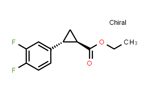 1006376-61-9 | (1R,2R)-Ethyl 2-(3,4-difluorophenyl)cyclopropanecarboxylate