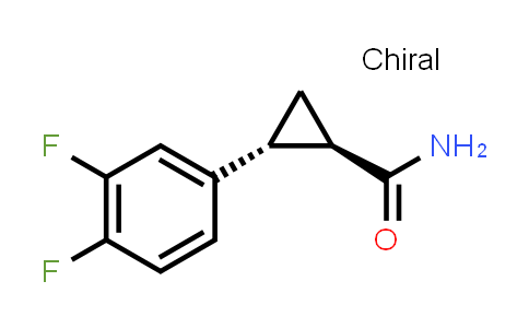 1006376-62-0 | (1R,2R)-2-(3,4-difluorophenyl)cyclopropanecarboxamide