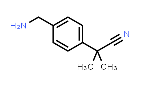 1006390-32-4 | 2-[4-(Aminomethyl)phenyl]-2-methylpropanenitrile