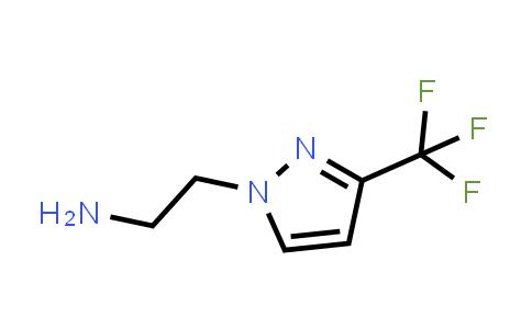 1006436-51-6 | 2-(3-(Trifluoromethyl)-1H-pyrazol-1-yl)ethan-1-amine
