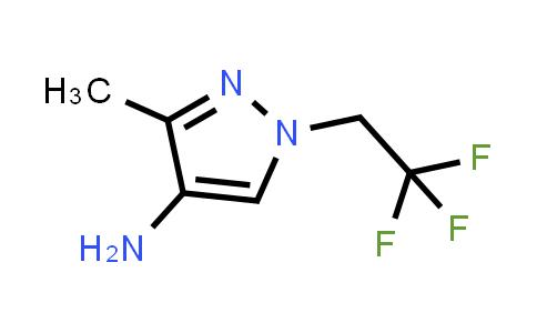 1006448-59-4 | 3-Methyl-1-(2,2,2-trifluoroethyl)-1H-pyrazol-4-amine