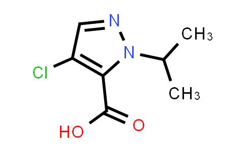 1006451-56-4 | 4-Chloro-1-isopropyl-1H-pyrazole-5-carboxylic acid