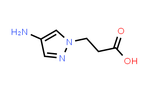 1006455-84-0 | 3-(4-Amino-1H-pyrazol-1-yl)propanoic acid