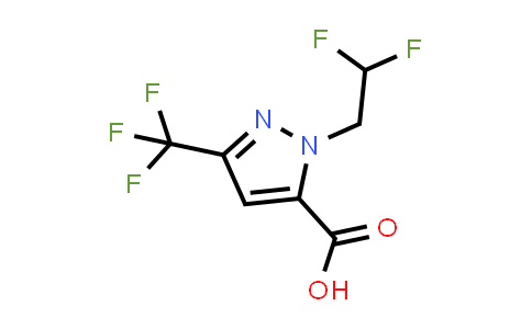 1006462-23-2 | 1-(2,2-Difluoroethyl)-3-(trifluoromethyl)-1H-pyrazole-5-carboxylic acid