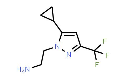 1006479-50-0 | 2-(5-Cyclopropyl-3-(trifluoromethyl)-1H-pyrazol-1-yl)ethan-1-amine