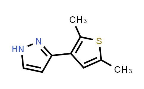 1006482-98-9 | 1H-Pyrazole, 3-(2,5-dimethyl-3-thienyl)-