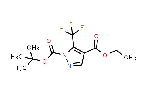 1006492-02-9   1H-Pyrazole-1,4-dicarboxylic acid, 5-(trifluoromethyl)-, 1-(1,1-dimethylethyl) 4-ethyl ester