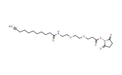 1006592-59-1 | Propargyl-C8-amido-PEG2-NHS ester