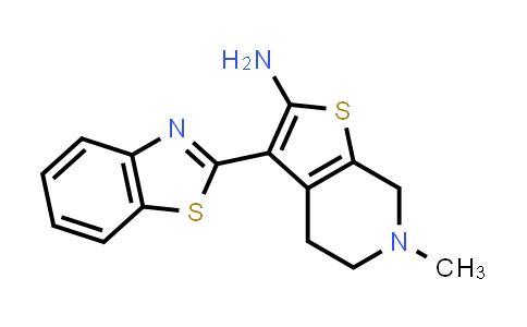 1006596-05-9 | 3-(1,3-Benzothiazol-2-yl)-6-methyl-4,5,6,7-tetrahydrothieno[2,3-c]pyridin-2-amine
