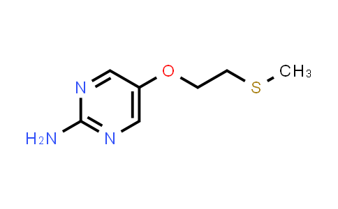 1006599-54-7   2-AMINO-5-(2-(METHYLTHIO)ETHOXY)PYRIMIDINE