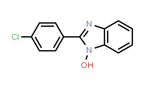 10066-08-7 | 1H-Benzimidazole, 2-(4-chlorophenyl)-1-hydroxy-