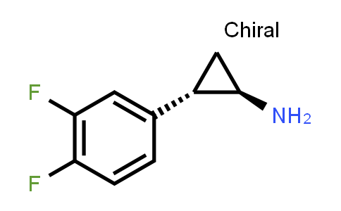 1006614-49-8   Cyclopropanamine, 2-(3,4-difluorophenyl)-, (1R,2S)-rel-