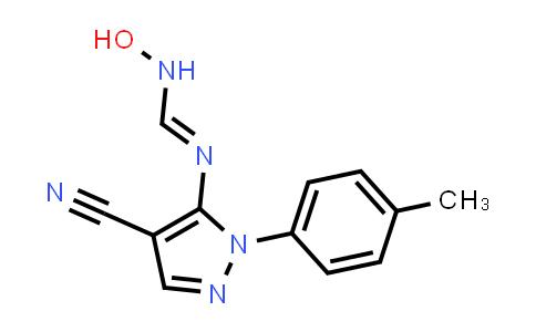 1007014-67-6 | Methanimidamide, N'-[4-cyano-1-(4-methylphenyl)-1H-pyrazol-5-yl]-N-hydroxy-