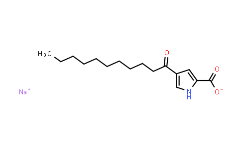 1007029-01-7 | 1H-Pyrrole-2-carboxylic acid, 4-(1-oxoundecyl)-, sodium salt (1:1)