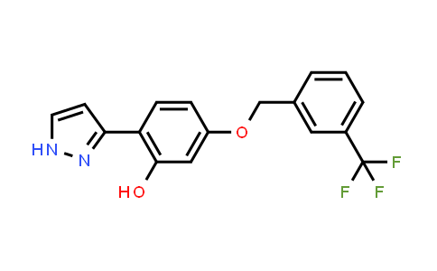 1007029-93-7 | Phenol, 2-(1H-pyrazol-3-yl)-5-[[3-(trifluoromethyl)phenyl]methoxy]-