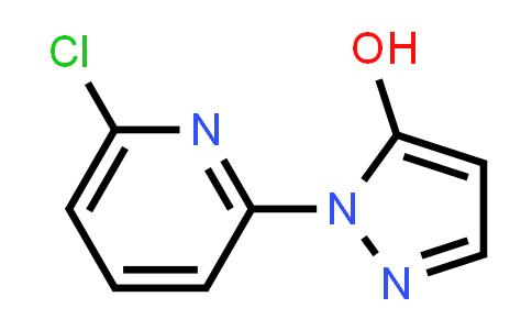 1007030-95-6 | 1H-Pyrazol-5-ol, 1-(6-chloro-2-pyridinyl)-