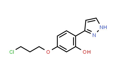 1007034-10-7 | Phenol, 5-(3-chloropropoxy)-2-(1H-pyrazol-3-yl)-