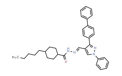 1007034-48-1 | Cyclohexanecarboxylic acid, 4-pentyl-, 2-[(3-[1,1'-biphenyl]-4-yl-1-phenyl-1H-pyrazol-4-yl)methylene]hydrazide