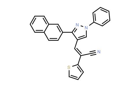 1007052-69-8 | 2-Thiopheneacetonitrile, α-[[3-(2-naphthalenyl)-1-phenyl-1H-pyrazol-4-yl]methylene]-