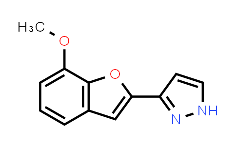 1007055-34-6 | 1H-Pyrazole, 3-(7-methoxy-2-benzofuranyl)-