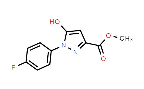 1007073-76-8 | 1H-Pyrazole-3-carboxylic acid, 1-(4-fluorophenyl)-5-hydroxy-, methyl ester
