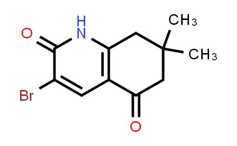 1007107-51-8 | 3-Bromo-7,7-dimethyl-7,8-dihydroquinoline-2,5(1H,6H)-dione
