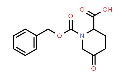 100711-68-0 | 1-((Benzyloxy)carbonyl)-5-oxopiperidine-2-carboxylic acid