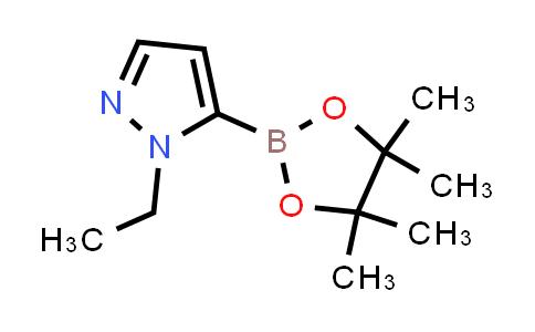 1007110-53-3 | 1-Ethyl-5-(4,4,5,5-tetramethyl-1,3,2-dioxaborolan-2-yl)-1H-pyrazole