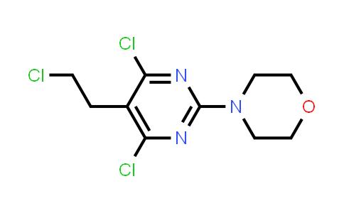 1007206-27-0 | 4-(4,6-Dichloro-5-(2-chloroethyl)pyrimidin-2-yl)morpholine