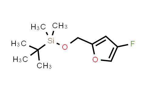 1007388-73-9 | Furan, 2-[[[(1,1-dimethylethyl)dimethylsilyl]oxy]methyl]-4-fluoro-