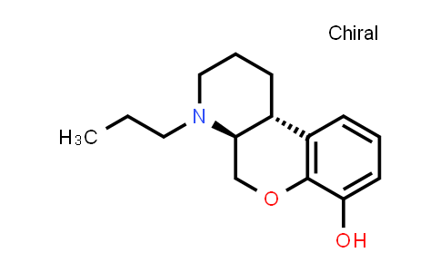 100745-36-6 | 2H-[1]Benzopyrano[3,4-b]pyridin-7-ol, 1,3,4,4a,5,10b-hexahydro-4-propyl-, trans-
