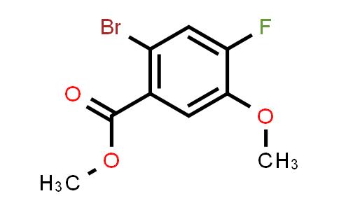 1007455-22-2   Benzoic acid, 2-bromo-4-fluoro-5-methoxy-, methyl ester