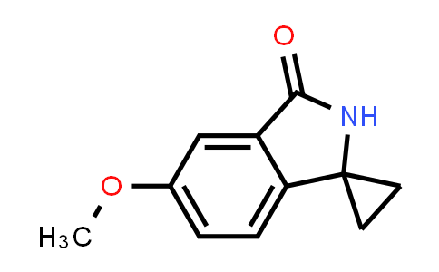 1007455-35-7 | 5'-Methoxyspiro[cyclopropane-1,1'-isoindolin]-3'-one