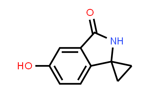 1007455-36-8 | Spiro[cyclopropane-1,1'-[1H]isoindol]-3'(2'H)-one, 5'-hydroxy-
