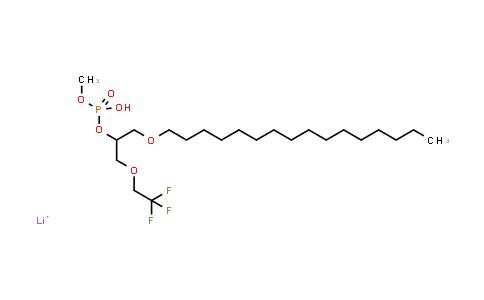1007476-63-2 | 1-(hexadecyloxy)-3-(2,2,2-trifluoroethoxy)propan-2-yl methyl hydrogen phosphate, lithium salt