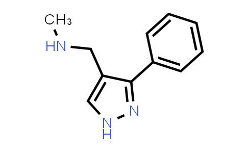 1007521-06-3 | N-Methyl-1-(3-phenyl-1H-pyrazol-4-yl)methanamine