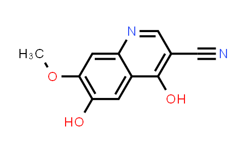 1007591-26-5 | 3-Quinolinecarbonitrile, 4,6-dihydroxy-7-methoxy-