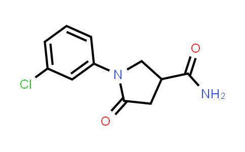 1007632-58-7 | 3-Pyrrolidinecarboxamide, 1-(3-chlorophenyl)-5-oxo-