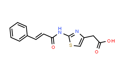 1007683-65-9 | 2-[2-(3-Phenylprop-2-enamido)-1,3-thiazol-4-yl]acetic acid