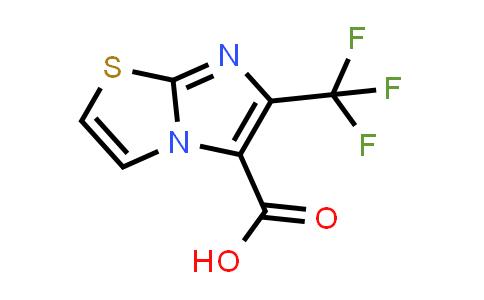 1007874-87-4 | 6-(Trifluoromethyl)imidazo[2,1-b]thiazole-5-carboxylic acid