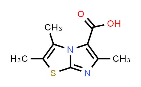 1007875-80-0 | 2,3,6-Trimethylimidazo[2,1-b]thiazole-5-carboxylic acid