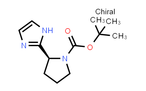 1007882-58-7 | tert-Butyl (2S)-2-(1H-imidazol-2-yl)pyrrolidine-1-carboxylate